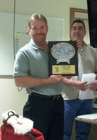 Dan Wagner, the 2010 MBA Angler of the Year Angler of the Year.